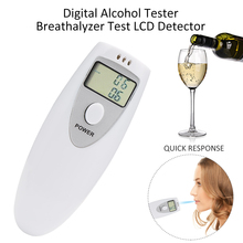 Alcohol Analyzer Digital professional Portable Breath Alcohol Analyzer Digital Breathalyzer Tester Alcohol Detection(China)