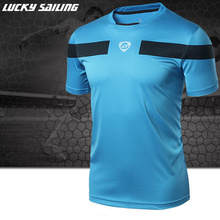 Brands men Tennis shirt Outdoor sports Running Fitness Gym Training and exercise badminton men's Short-sleeve t-shirt tops tees