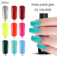 Zation Nail Gel Primer Enamel Colorful Gel Nail Polish Gel Lacquer Varnish Top Base Coat Gel Polish Nail Paint Nail Art Polish