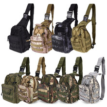 Outdoor Sport Bag Military Tactical Backpack Tactical Messenger Shoulder Bag Oxford Camping Travel Hiking Trekking Runsacks Bag(China)