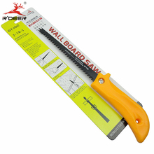 1pc Hacksaw Wall Board Saw 65# Steel Plastic Handle Double Use 300mm Woodworking Saws Multifunction Hand Tools(China)