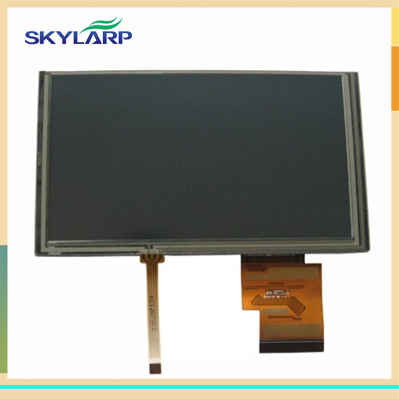 skylarpu 6.2 inch LCD screen for Hannstar HSD062IDW1 A00 GPS display Screen with Touch screen digitizer Repair replacement<br>