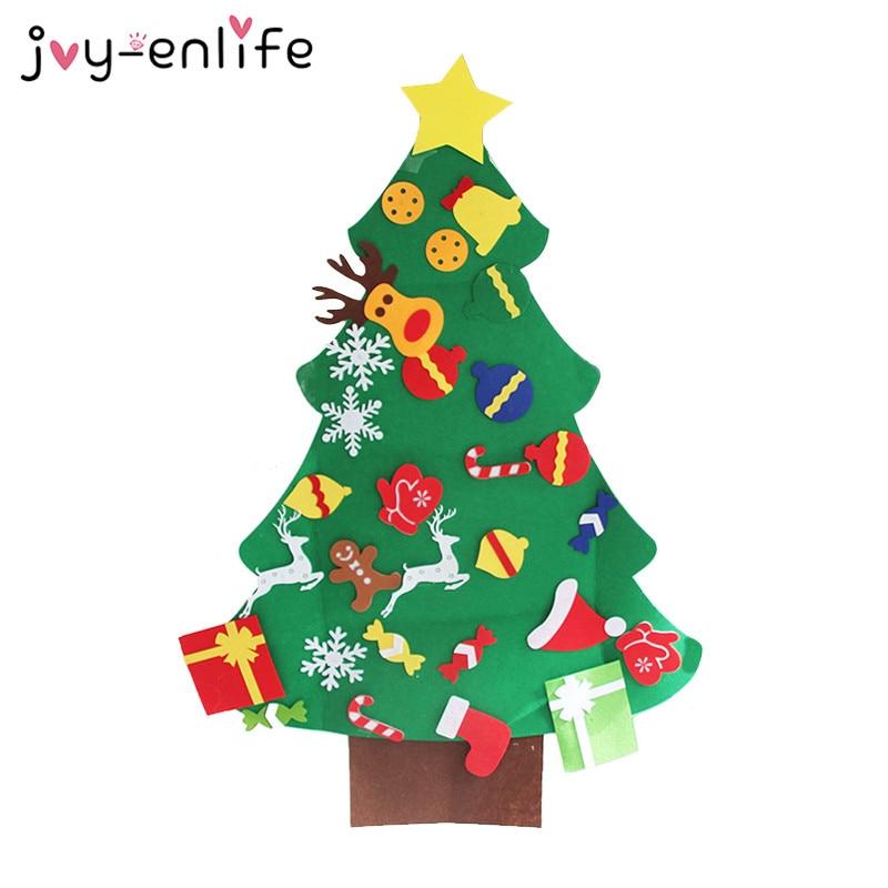 Joy Enlife Diy Felt Christmas Tree Ornaments New Year 2019
