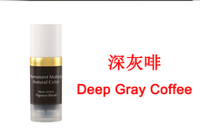 deep gray coffee imported vacuum sterile manual eyebrow tattoo ink permanent makeup pigmen paint 10ml(China)