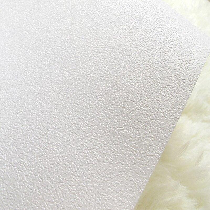 beibehang Shanghai Yinuo white texture grain wallpaper background color clothing shop pure white full wallpaper papel de parede<br>