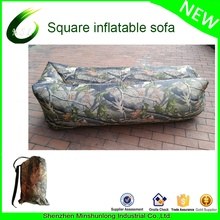 2017 Hot Sale inflatable Sleeping Air Sofa Lazy Outdoor Bag Chair Camping Bed Fast Inflatable Lounger Hangout Bag