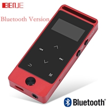 Newest Original BENJIE S5B Touch Screen Bluetooth MP3 Player 8GB High Sound Quality Entry-level Lossless Music Player with FM(China)