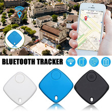 Deux Façon D'alarme Key Finder Bluetooth Tracker Keyfinder GPS Enfants Sac Portefeuille Clé Finder GPS Tag Locator Rappel(China)