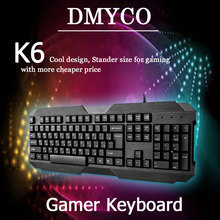 Russian/English Newest Keyboard gaming keyboard good quality CK 104 keys Keyboard for PC Tablet Teclado Gamer free shipping