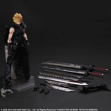 Final Fantasy Action Figure Play Arts Kai Cloud Strife Anime Collection Model Toys 260MM Final Fantasy Playarts