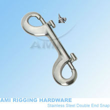 "4"" Double end Snap, stainless steel 316, AISI 316, marine hardware, boat hardware, rigging hardware, yacht hardware, OEM(China)"