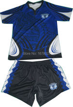 Wholesale Team Set  Rugby jersey and rugby shorts