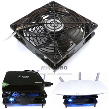 New Silent Bule Led Fan 120MM 1225 12025 120*120*25MM chassis fan for Router set top box with 5V USB