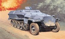 Out of print product! Italeri 7009 - Sd.Kfz. 251/1 Ausf.C - 1:72 Plastic Model Kit