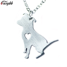 Manufacturers selling 2016 new Animal bulldog pendant stainless steel fashion han edition necklace Collarbone chain necklace dog(China)