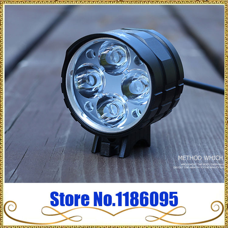 Free Shipping 2016 new Solarstorm X6 3000 lumens 4 X Cree XM-L2 U2 led bicycle light bike light lamps lantern flashlight<br>
