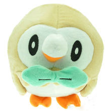 16cm Anime Rowlet Lovely Plush Doll Soft Stuffed Plush Toy Lovely Gift For Kids(China)