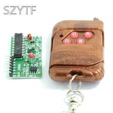 1set IC 2262/2272 4 CH 315Mhz Key Wireless Remote Control Kits Receiver module