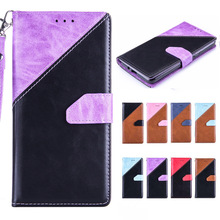 Luxury Mixed Colors Lanyard Leather Wallet Flip Cover For Samsung Galaxy Grand Prime Case G530 G531 G531H G530H Phone Cases
