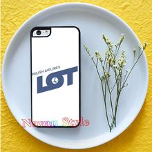 LOT Polish Airlines top selling original cell phone case cover for iphone4 4s 5 5s se 5c 6 6 plus 6s plus 7 7 plus *#G2479BR