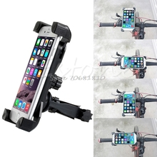 Universal Motorcycle MTB Bike Bicycle Handlebar Mount Holder Band For Cell Phone -R179 Drop Shipping