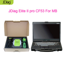 [JDiag Original] JDiag Elite ii pro J2534 Hardware With CF53 PC 4G RAM i5 CPU 160GB SSD for Japanese cars diagnostic