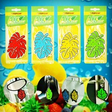 20 pcs Hanging Paper Perfumed Hanging Car Air Freshener Vehicle Standard Scented Lasting Fragrance Random Scent