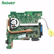 Reboto Classy Laptop Motherboard For Asus 1015BX Computer Mainboard 1015BX MAIN BOARD REV:1.1G With Radiator fan Free Shipping(China)