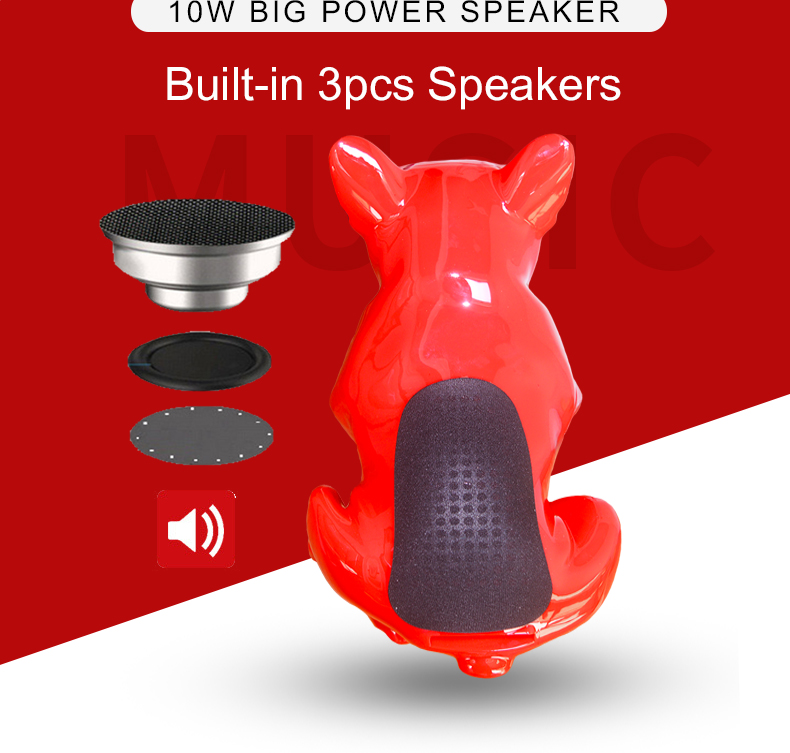 Aerobluu S4 Full bulldog speaker computer 2.1 wireless bluetooth speaker column mp3 music player boom box caxia de som with mic