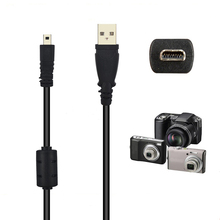 59 Inche 1.5M 8 Pin Camera USB Data Cable Charge Transfer For Olympus Pentaxist FinePix For Sony Nikon Coolpix L19 L20 L100 S620