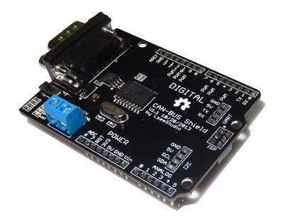 Free Shipping! CAN-BUS Shield expansion board development board learning board<br>