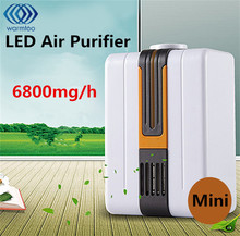 110V-240V Air Purifier For Home Negative Ion Generator Remove Formaldehyde Smoke Dust Purification Portable Air Purifier AU Plug(China)