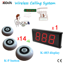 Waiter Calling System K-403+K-P Paging System(China)