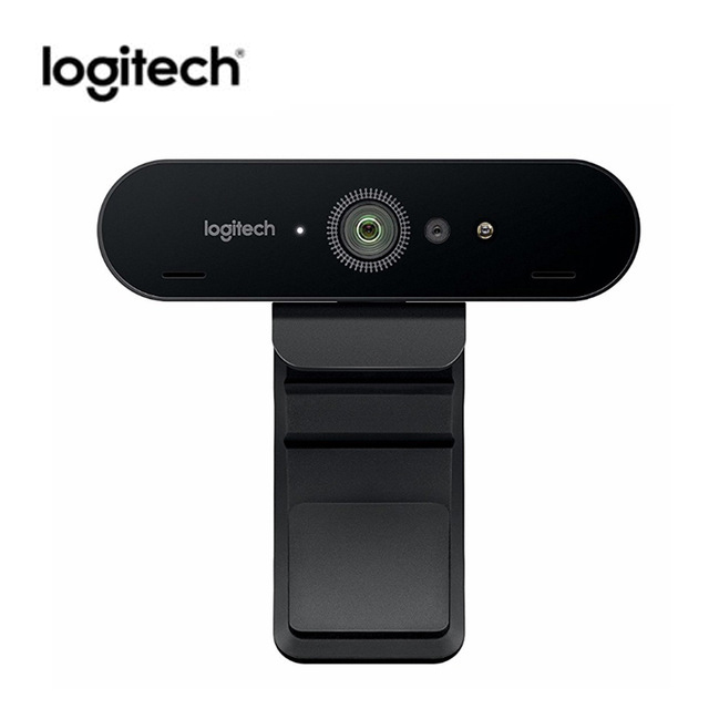 Logitech BRIO C1000e 4K HD Webcam Wide Angle Ultra HD 1080p Video With Mic For Video Conference Streaming Recording Camera