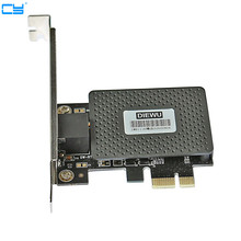 10/100/1000M Gigabit Network Ethernet Express PCI-E LAN Card free shipping RTL8111e PCI exprss Gigabit Giga 10/100/1000Mbps(China)