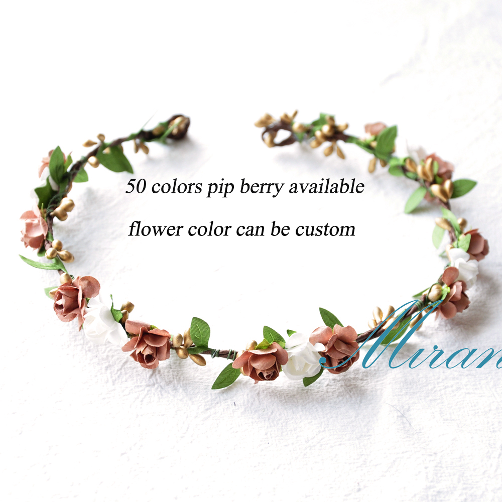 Aliexpress Buy 10pcs Handmade Silk Leaf Silver Berries