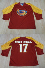 Atlanta Thrashers Vintage #17 Ilya Kovalchuk Hockey Jersey Embroidery Stitched Customize any number and name Jerseys(China)