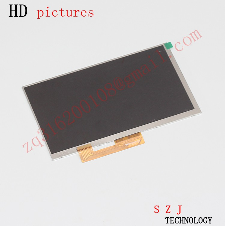 """New 7"""" inch LCD Display Matrix For Irbis TZ709 3G TABLET 30pins LCD Screen Lens Module replacement Free Shipping"""