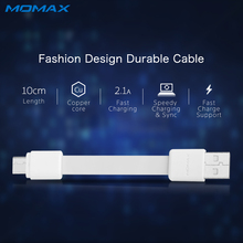 Momax Short High Speed Type C to USB A Male Cable for Xiaomi Mi6 Samsung S8 Reversible Connector 10cm Phone Cable Charging Sync(China)