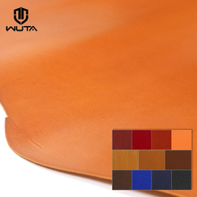 Box calfskin Leather First Layer Leather Piece Plain Weave Handmade DIY Material Made In Famous French Tanneries DU PUY 12color(China)