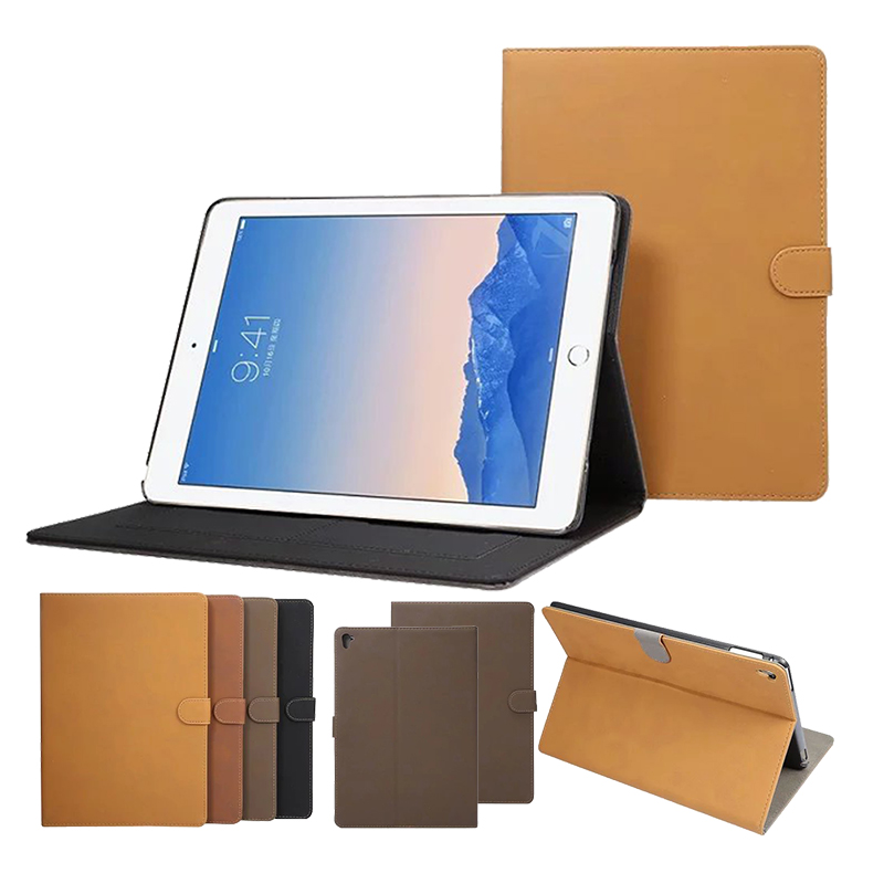 For Apple iPad Pro Air 3 9.7 inch Leather Case, retro matte Folio PU Leather Stand Book Cover For Apple iPad Pro Air3<br><br>Aliexpress