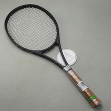 NEW custom taiwan PS 97 black Racquet tennis racket Federer tennis racket Foamed handle 4 1/4,4 3/8,4 1/2 with bag