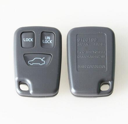 3 Buttons Remote Fob Car Key Shell Case For Volvo S70 V70 C70 S40 V40 XC90 XC70 Smart Remote Key Fob Key Cover(China)