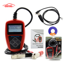 Original Vehicle Battery Tester BA101 Automotive 12V Vehicle Car Auto Battery Tester Analyzer 100-2000CCA 220AH(China)