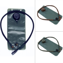 3L Hydration Water Bag Water Bags Outdoor Sports Camping Hiking Cycling Bicycle Hydration Bladder Climbing Military Green