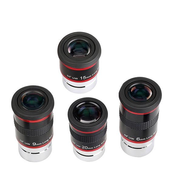 FMC 1.25 Eyepiece Set 68-Degree Ultra Wide Angle Eyepiece (1)