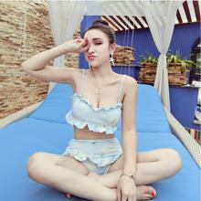 Buy 2017 harajuku Japanese Blue Lovely Cartoon Bra Cute Lolita Kawaii Women Underwears Brief Set Sexy Lingerie w847