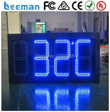 "Leeman 5 inch 5"" GPS CE&Rohs 10"" 88:8C/F LED Message Clock and Temperature from Shenzhen Leeman P10 LED RGB SMD OUTDOOR DISPLAY"