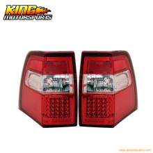 For 2007-2010 Ford Expedition LED Tail Lights Red Clear 08 09 USA Domestic Free Shipping