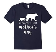 2017 Rushed Limited Fashion Nylon Cotton Tee4u Make A Tee Shirt Mommy's First Mother's Day O-neck Men Short Graphic T Shirts(China)